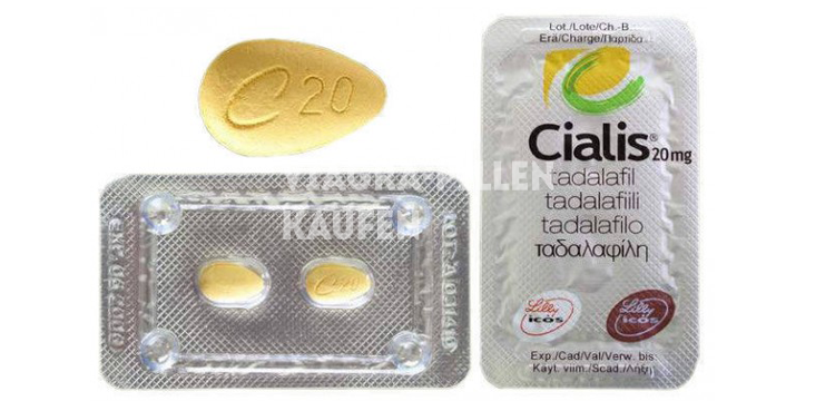 2 Blister mit Cialis